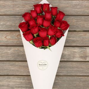 Rose Bouquet – 24 rosas rojas